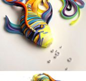 Quilled Paper Art