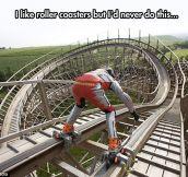 Roller Coaster Skating
