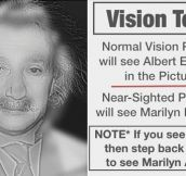 Impressive Vision Test