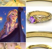 If Disney Princesses Were Rings