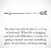 Sometimes Life Is Like An Arrow