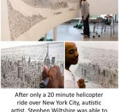 He Saw The Whole City Once And Drew It Perfectly
