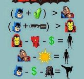 Batman Mathematics