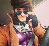 Gambit Cosplay Gold