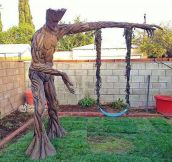 Tree Swing, Groot Style