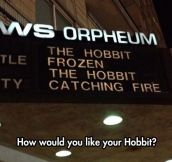 Please Choose Your Hobbit