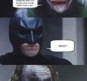 Batman Falls For It