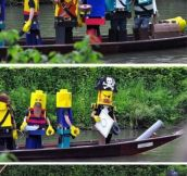Real Life LEGO Pirates