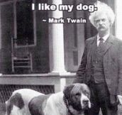 Mark Twain Being Right Again