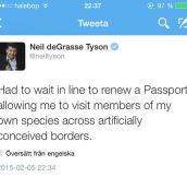 Mr. Tyson On Passports