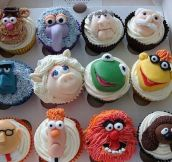 Muppet Cupcakes Win