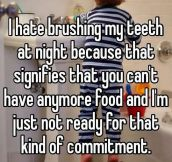Not Ready For That Kind Of Commitment