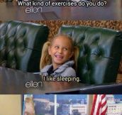 It's My Kind Of Exercise