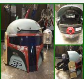 Awesome Boba Fett's Welding Mask