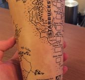 Drawing On Starbuck's Cups