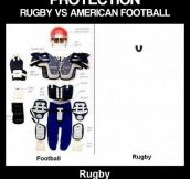 Rugby Vs. Football