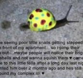 Let's Save All The Snails