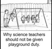 Science Teachers At The Playground