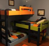 Awesome Triple Bunk Beds