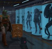Boba Fett's Very Private Collection