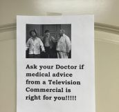 Please Ask Your Doctor