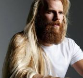 Danish Model Steffen Norgaard Has Fabulous Hair