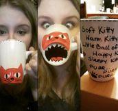 DIY Kitty Sharpie Mug