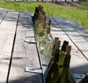 Clever Table For Parties
