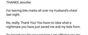 Wife Catches Husband Cheating, So She Writes An Angry Letter To His Mistress