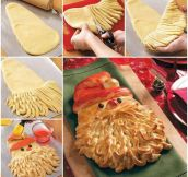 Awesome Santa Bread