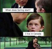 How Canada Feel All Year Long