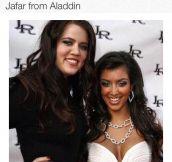 Kim Kardashian's Look