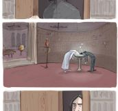 That Moment Snape Finds The Pensieve