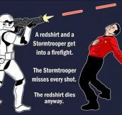 Star Wars Vs. Star Trek Encounter