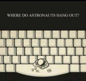 Perfect Place For Astronauts