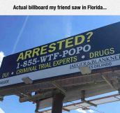 Just Another Sign In Florida