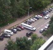 Parking Like A True Boss