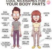Nicknames For Your Body Parts