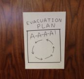 Perfect Evacuation Plan