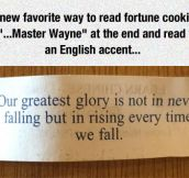 Favorite Way To Read Fortune Cookies