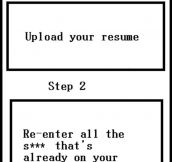Applying For Jobs Today