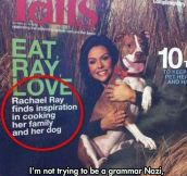 This Publication Doesn't Believe In Commas