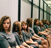 How Many Girls Are Sitting?