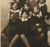 Badass Girls, Taken In 1930