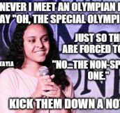 If You Ever Meet An Olympian