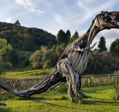 Awesome Driftwood T-Rex