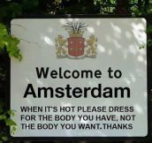 Amsterdam Doesn't Sugarcoat It