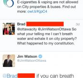 Mayor Of Ottawa Roasts Witty Boy