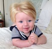 15 Babies Born With Gorgeous Full Heads Of Hair