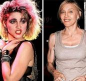21 Shocking Photos Of Celebrities Then And Now